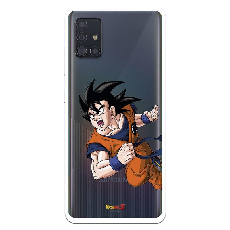 Funda Oficial De Dragon Ball Goku Guerrero Para Samsung Galaxy A51