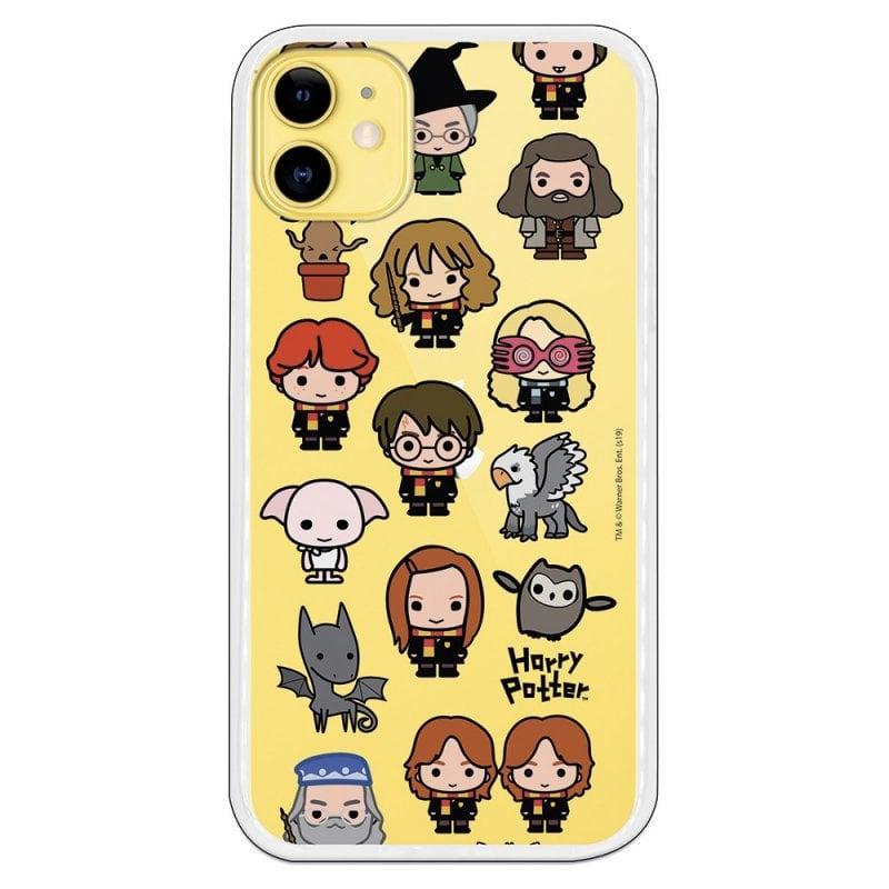 Funda Oficial De Harry Potter Personajes Iconos Para IPhone 11