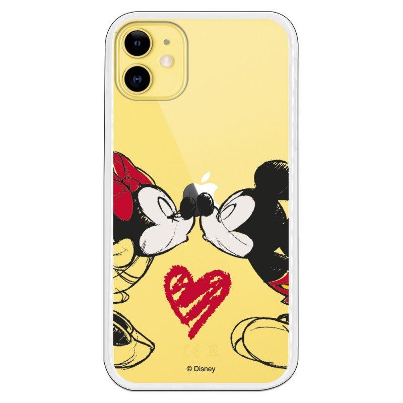Funda Oficial de Disney Mickey y Minnie Beso Clásicos Disney para iPhone 11