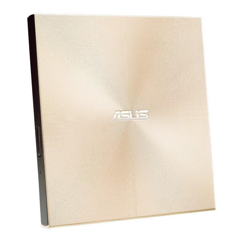 Asus Ultra Slim Portable Grabadora De DVD Dorada