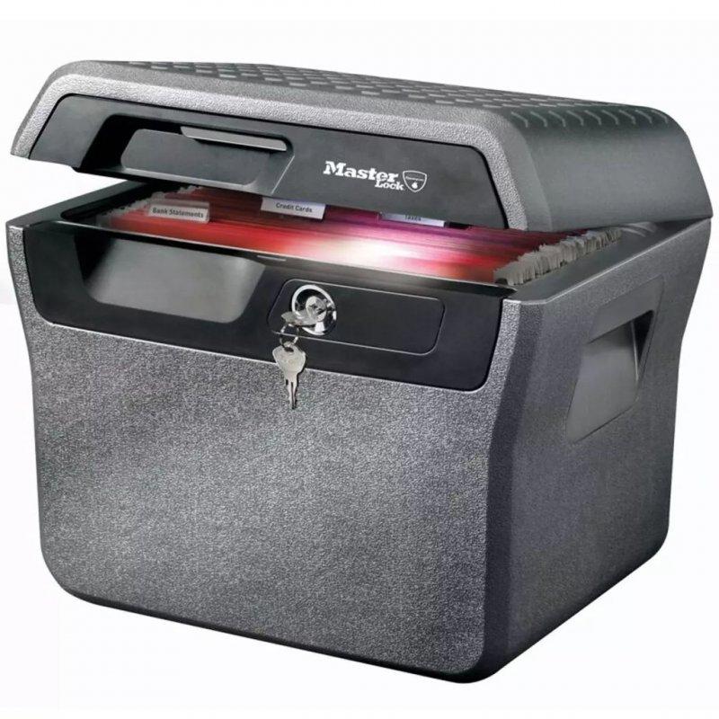 Master Lock LFHW40102 Caja De Seguridad Impermeable Contra Incendios