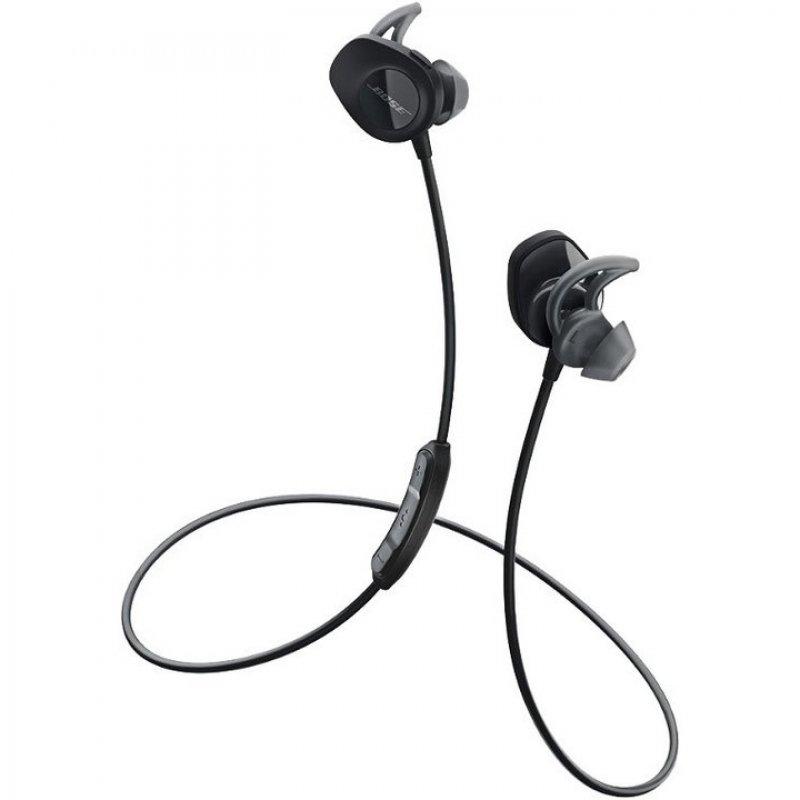 Bose SoundSport Auriculares Inalámbricos Negro + Estuche De Carga