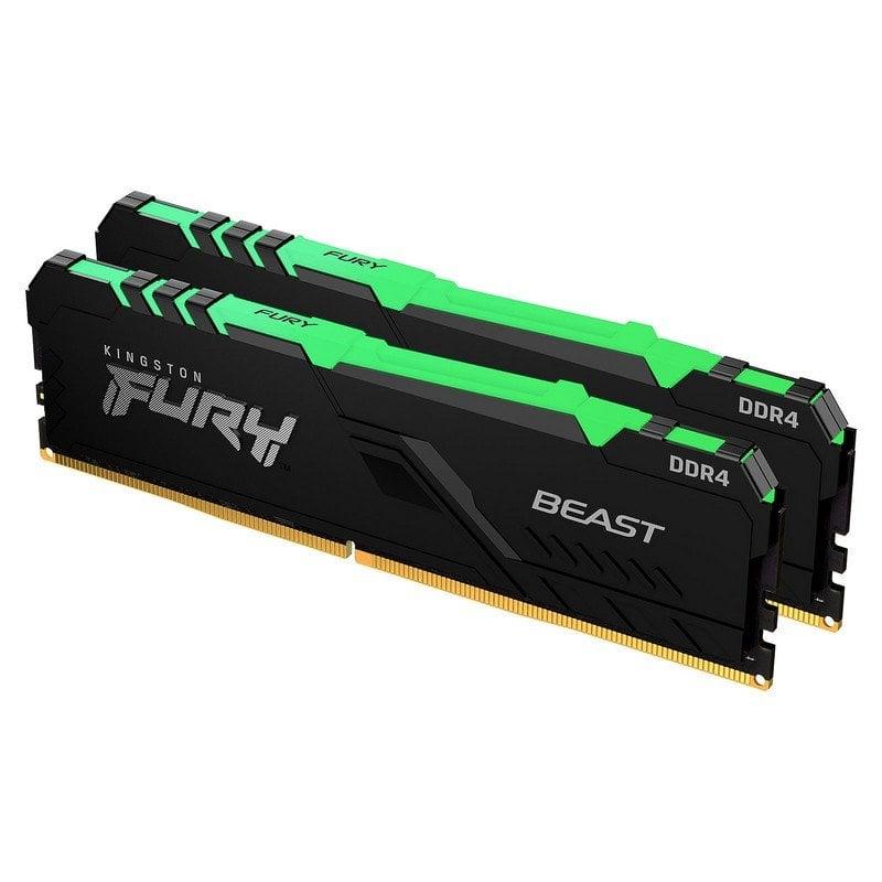 Kingston FURY Beast RGB DDR4 2666 MHz 32 GB 2x16GB CL16
