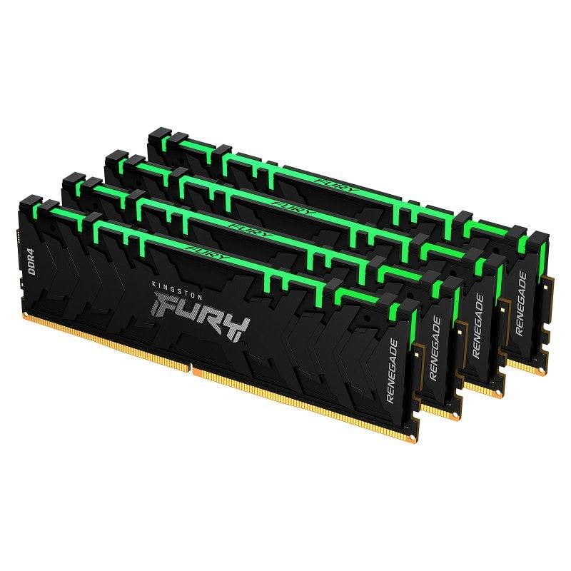Kingston FURY Renegade RGB DDR4 3600 MHz 32GB 4x8GB CL16