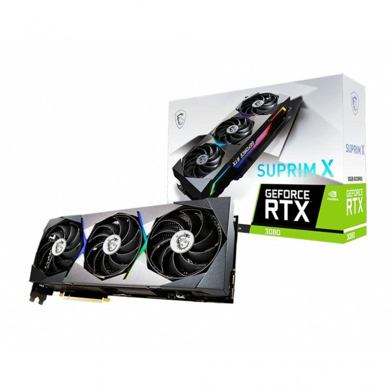 MSI RTX 3080 SUPRIM X LHR 10GB GDDR6X
