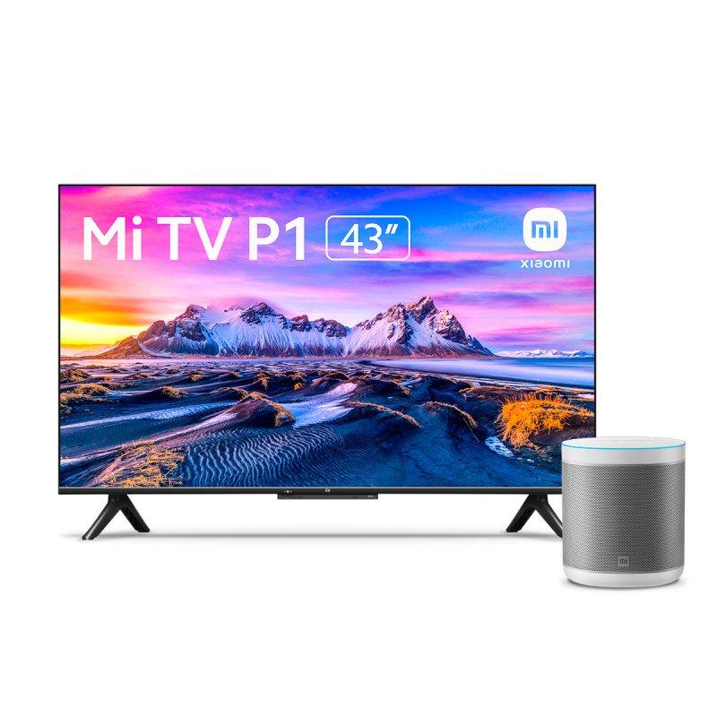 "Xiaomi Mi TV P1 43"" LED UltraHD 4K + Mi Smart Speaker Altavoz Inteligente Blanco"