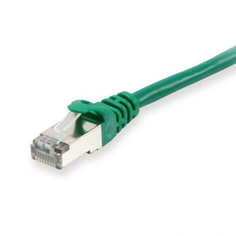 Equip Cable De Red Platinum S/FTP Libre De Halógenos Cat 6 0.25m Verde