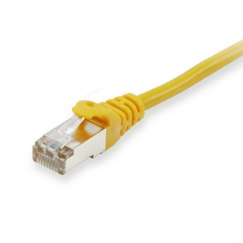 Equip Cable De Red Platinum S/FTP Libre De Halógenos Cat 6A 0.25m Amarillo