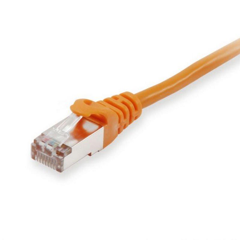 Equip Cable De Red Platinum S/FTP Libre De Halógenos Cat 6A 1m Naranja