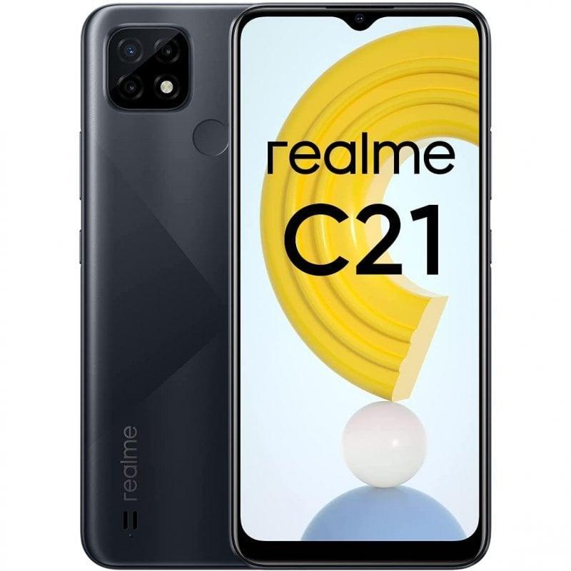 Realme C21 4/64GB Negro Libre