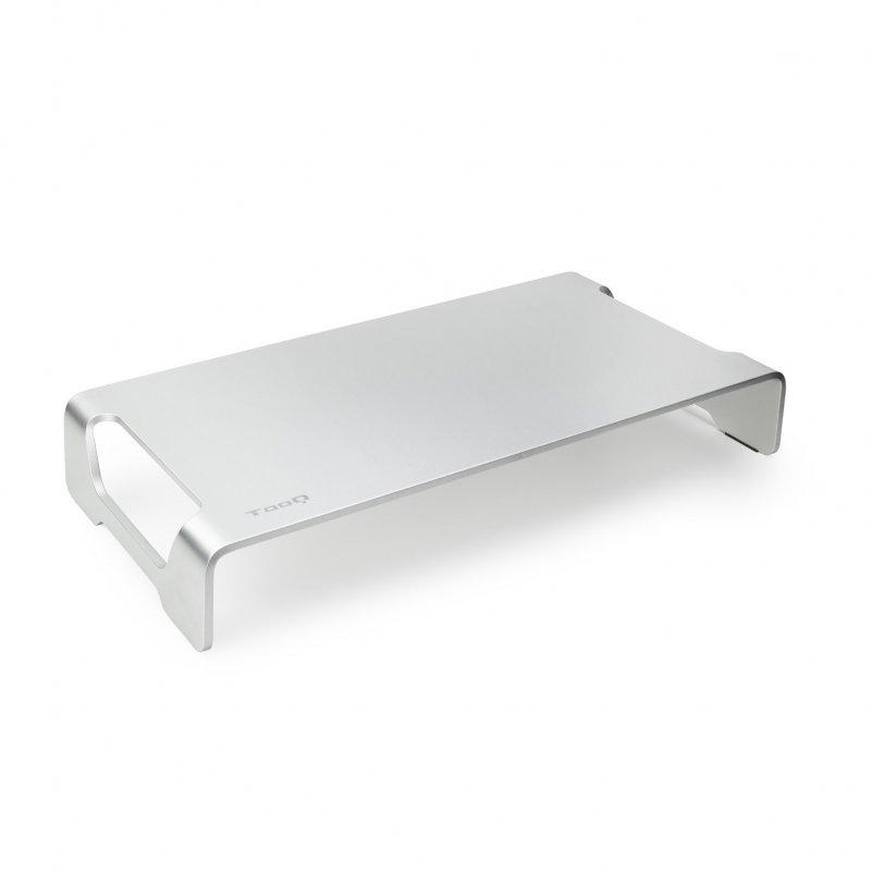 TooQ TQMR0004 Soporte Elevador Para Monitor/Portátil Plata