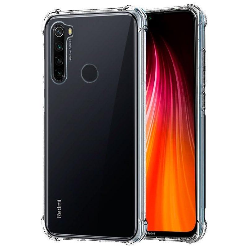 Cool Funda AntiShock Transparente Para Xiaomi Redmi Note 8/ Note 8(2021)