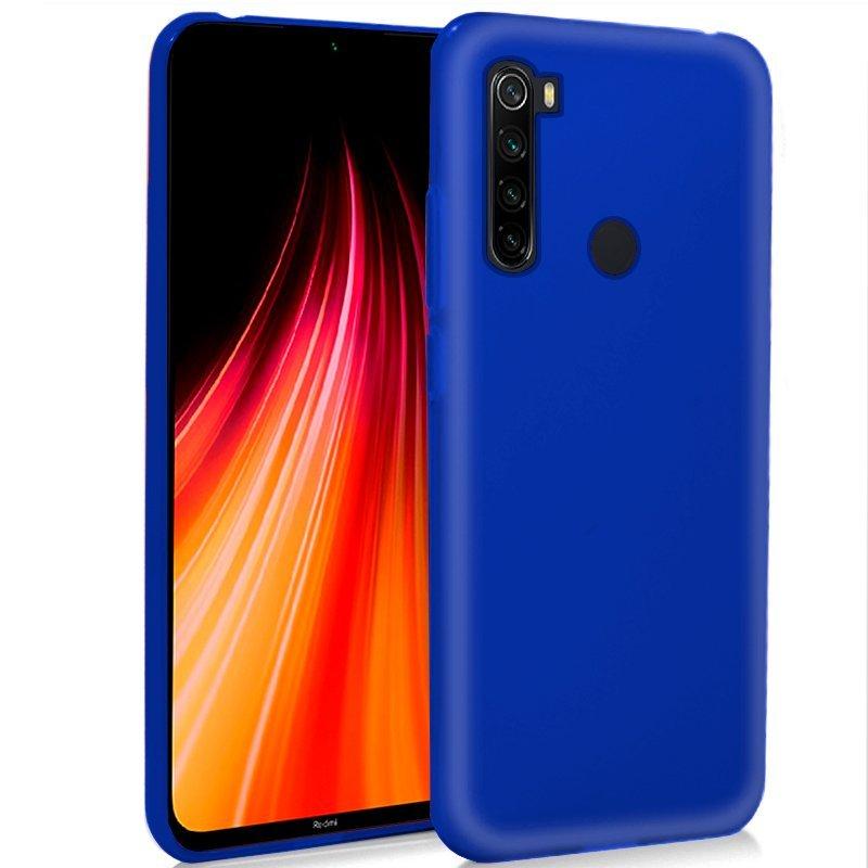 Cool Funda Silicona Azul Para Xiaomi Redmi Note 8/Note 8 (2021)