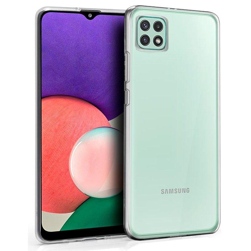 Cool Funda Silicona Transparente Para Samsung Galaxy A22 5G