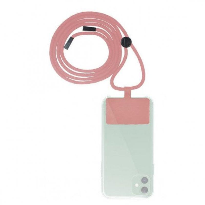 Muvit Cordón Colgante Universal Rosa Para Smartphone