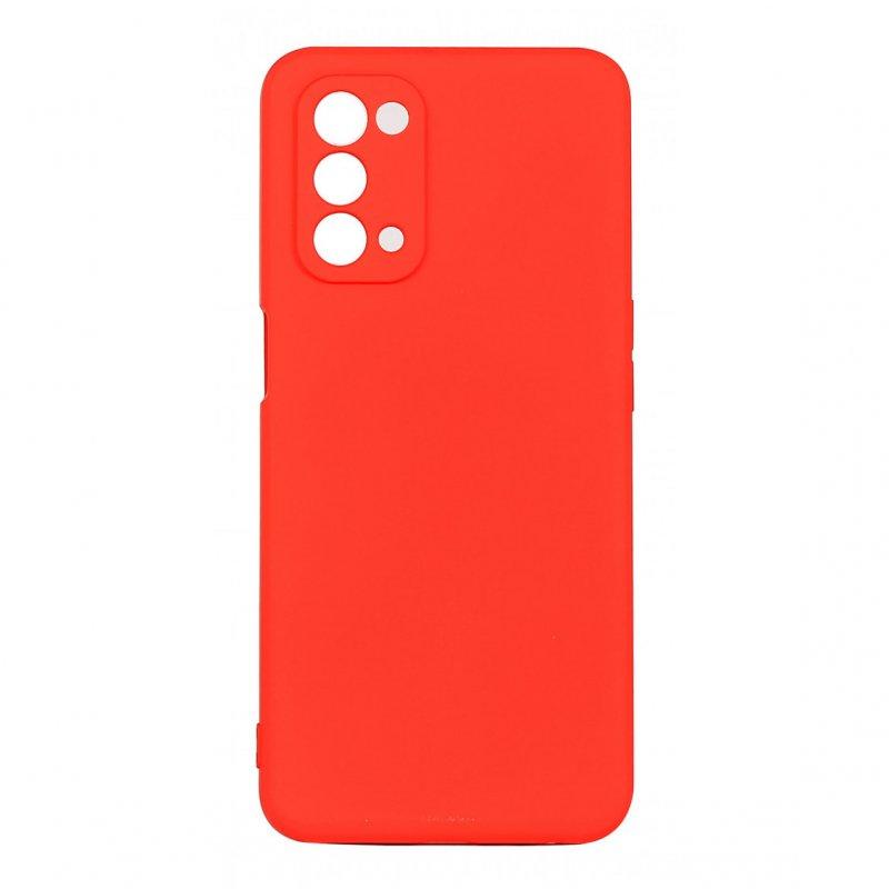 Muvit Life Funda Liquid Soft Roja Para Oppo A54 5G