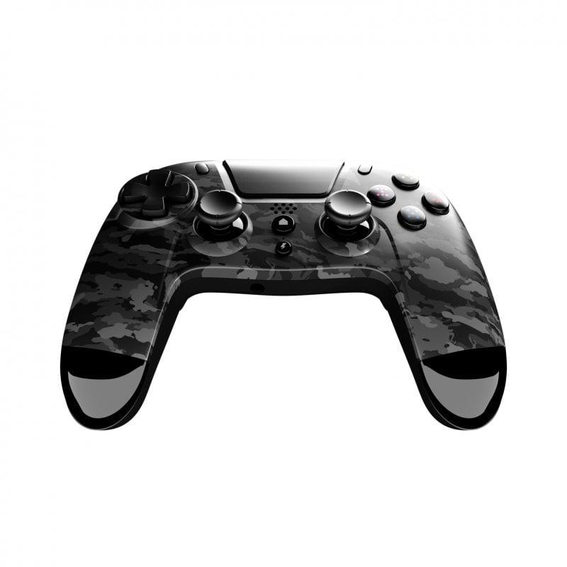 Gioteck VX-4 Mando Inalámbrico Gris Camuflaje Para PS4 Y PC