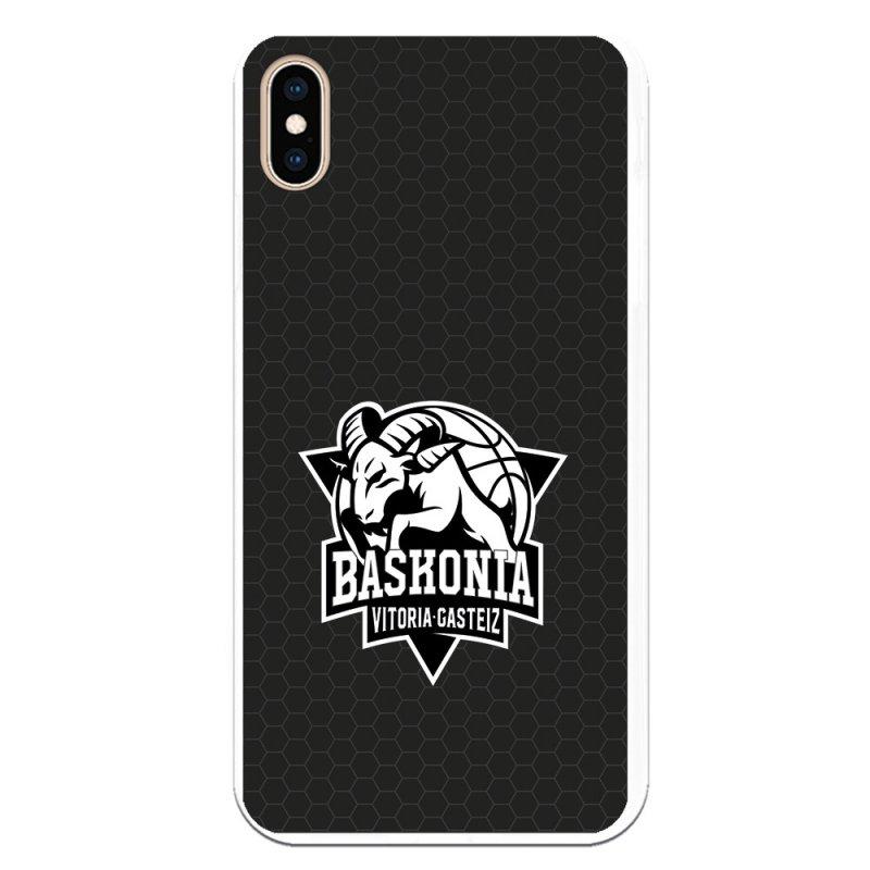 Funda Oficial Baskonia Blanco Y Negro Para IPhone XS Max
