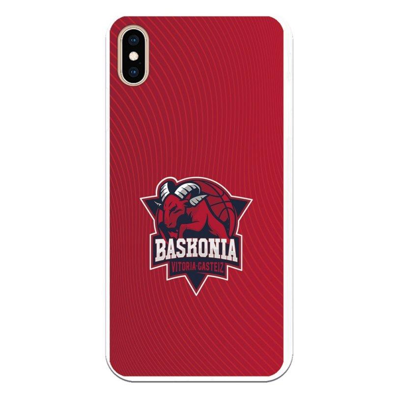 Funda Oficial Baskonia Fondo Rojo Para IPhone XS Max