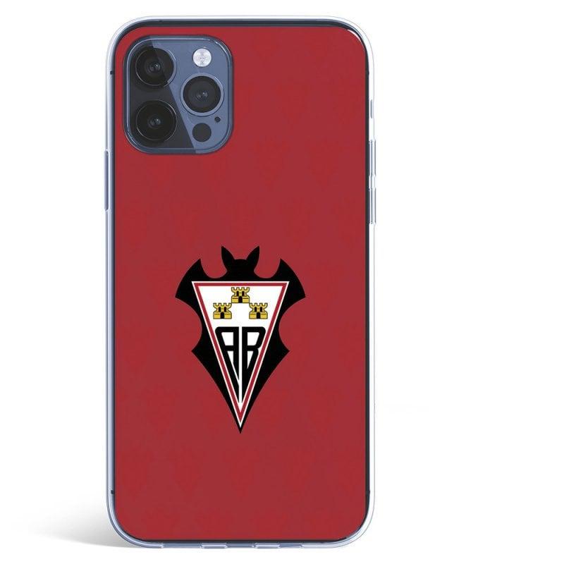 Funda Licencia Oficial Albacete Balompié Escudo Fondo Patrón Rojo para iPhone 12 Pro