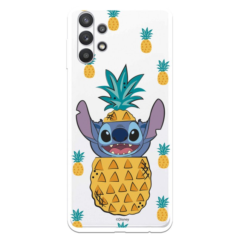 Funda Oficial de Disney Stitch Piñas Lilo & Stitch para Samsung Galaxy A32 5G