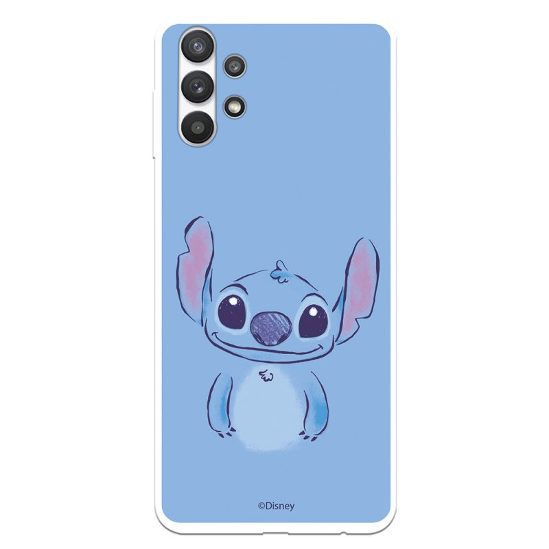Funda Oficial de Disney Stitch Azul Lilo & Stitch para Samsung Galaxy A32 5G