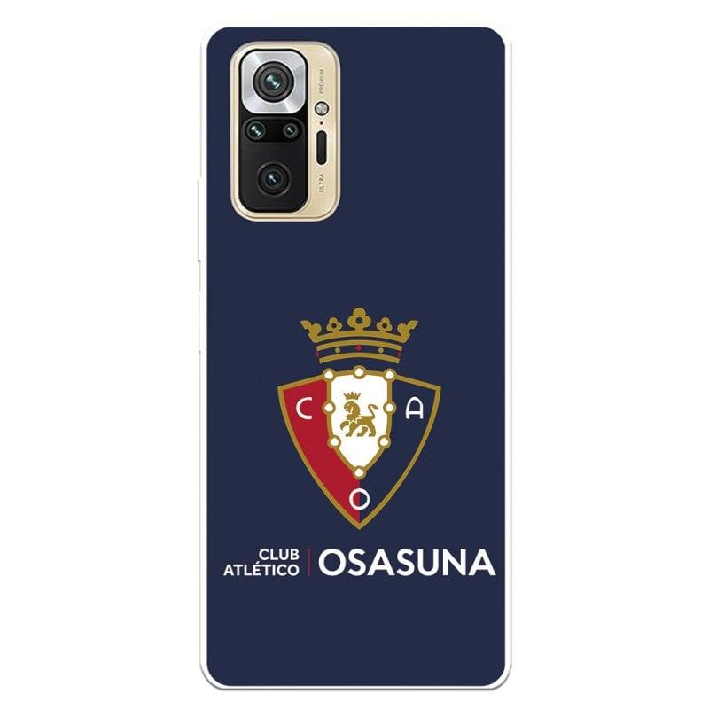 Funda Licencia Oficial CA Osasuna Escudo Fondo Azul para Xiaomi Redmi Note 10 Pro