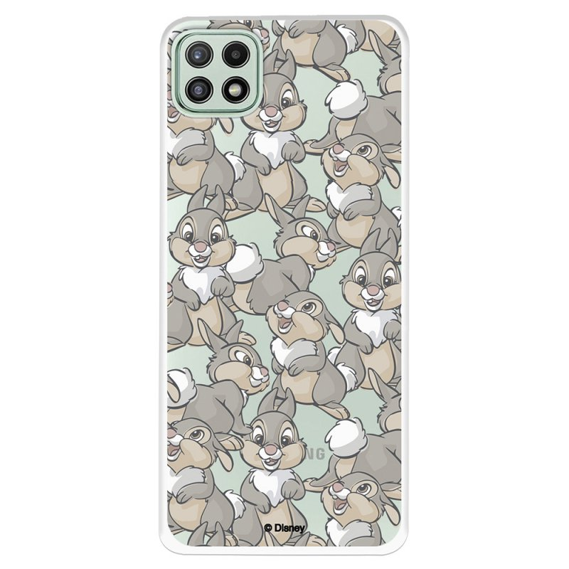 Funda Oficial de Disney Tambor Patrones Bambi para Samsung Galaxy A22 5G
