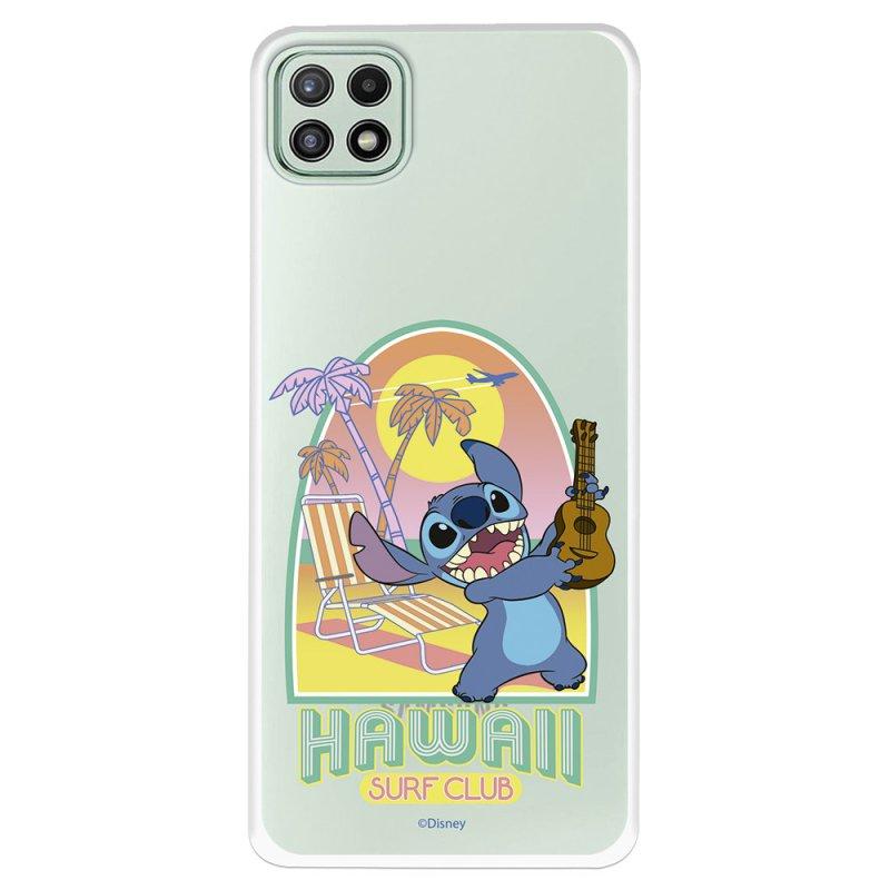 Funda Oficial De Disney Stitch Hawaii Surf Club Lilo & Stitch Para Samsung Galaxy A22 5G