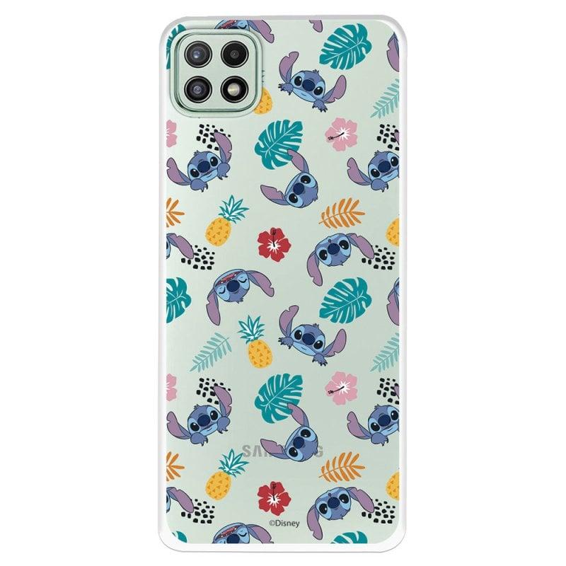 Funda Oficial De Disney Stitch Siluetas Lilo & Stitch Para Samsung Galaxy A22 5G