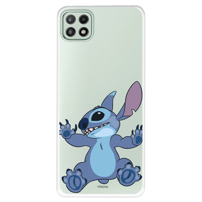 Funda Oficial De Disney Stitch Trepando Lilo & Stitch Para Samsung Galaxy A22 5G