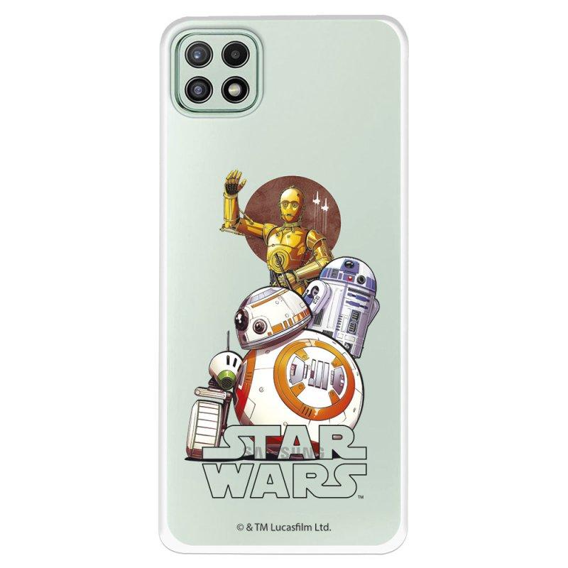 Funda Oficial De Star Wars Personajes Robots Para Samsung Galaxy A22 5G