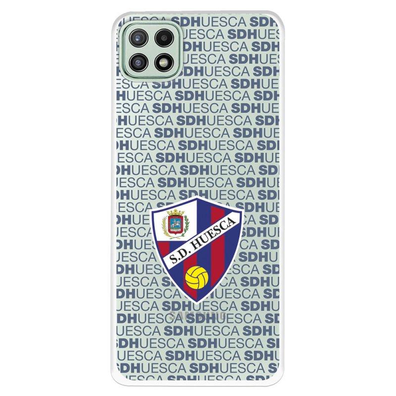 Funda Licencia Oficial SD Huesca Del Huesca Patrón Para Samsung Galaxy A22 5G