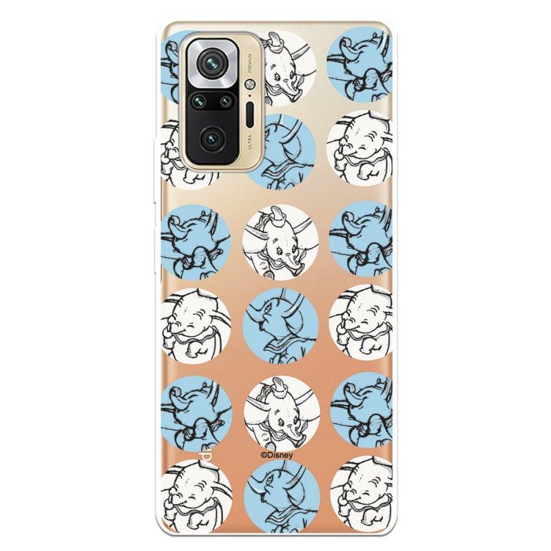 Funda Oficial De Disney Dumbo Patrón Círculos Dumbo Para Xiaomi Redmi Note 10 Pro