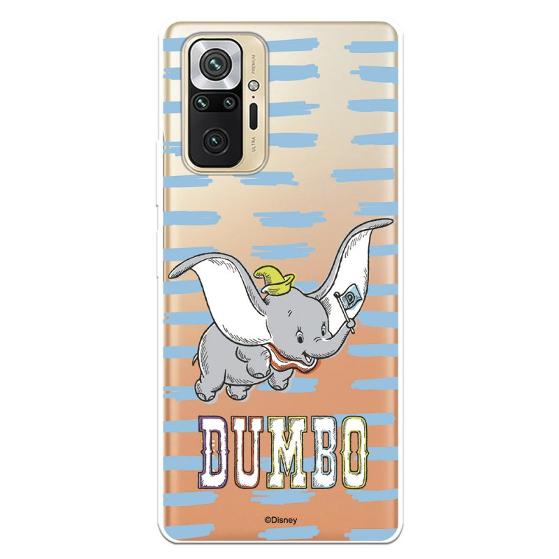 Funda Oficial De Disney Dumbo Flying Dumbo Para Xiaomi Redmi Note 10 Pro