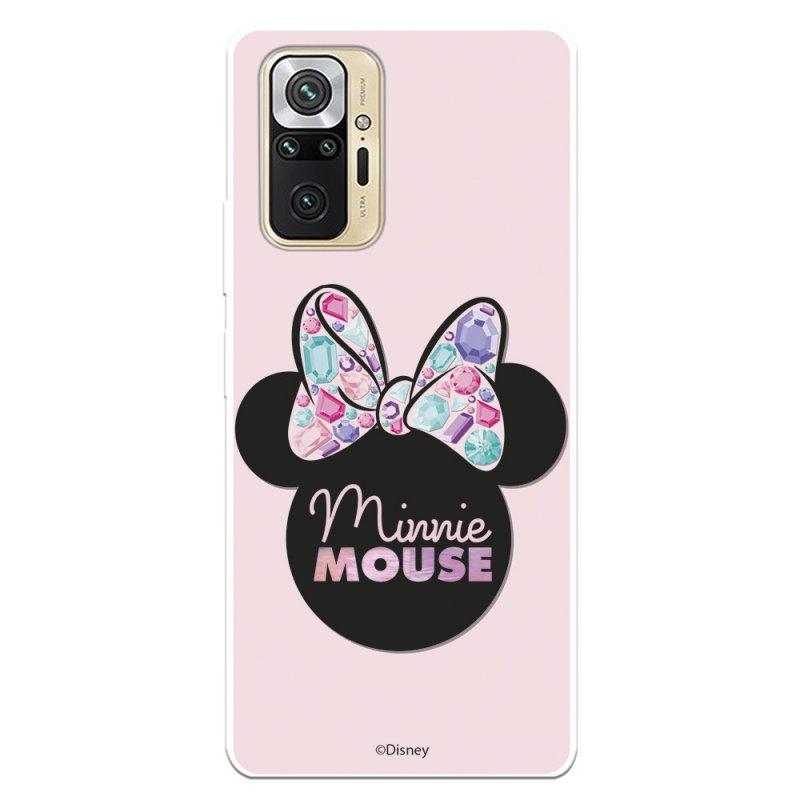 Funda Oficial De Disney Minnie Pink Shadow Clásicos Disney Para Xiaomi Redmi Note 10 Pro