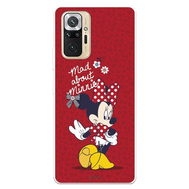 Funda Oficial De Disney Minnie Mad About Clásicos Disney Para Xiaomi Redmi Note 10 Pro