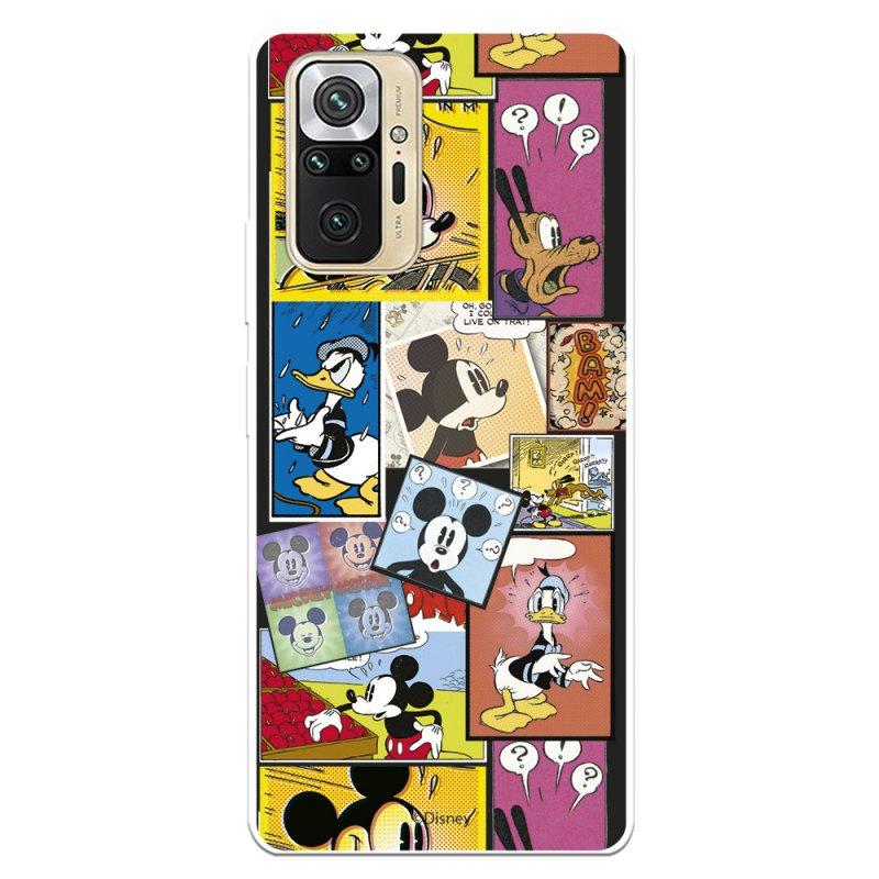 Funda Oficial De Disney Mickey Comic Clásicos Disney Para Xiaomi Redmi Note 10 Pro