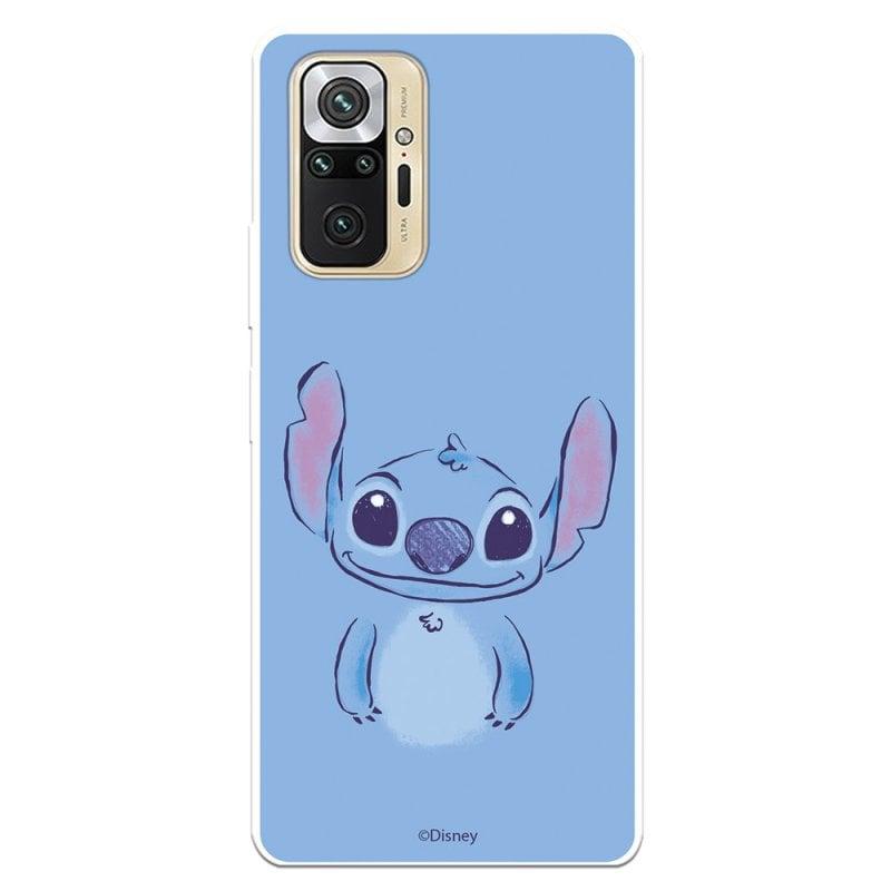 Funda Oficial De Disney Stitch Azul Lilo & Stitch Para Xiaomi Redmi Note 10 Pro