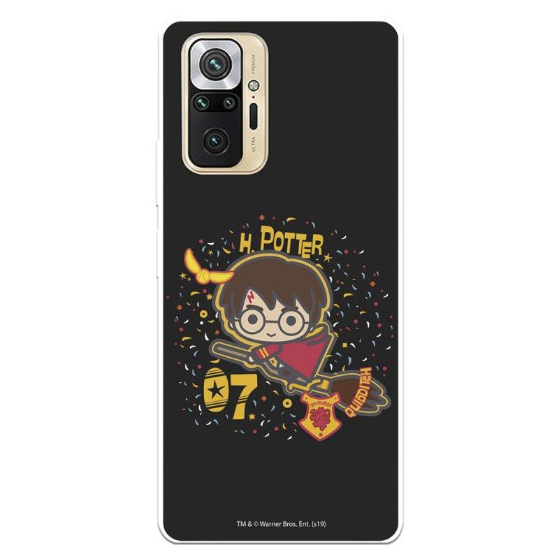 Funda Oficial De Harry Potter Harry Fondo Negro Para Xiaomi Redmi Note 10 Pro