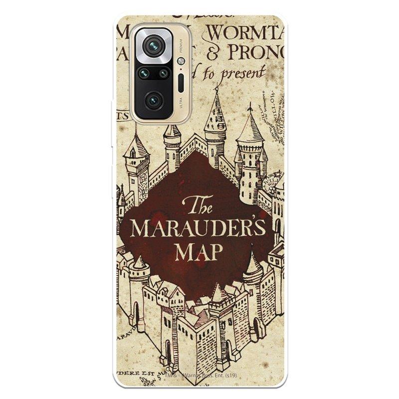 Funda Oficial De Harry Potter The Marauders Map Fondo Para Xiaomi Redmi Note 10 Pro
