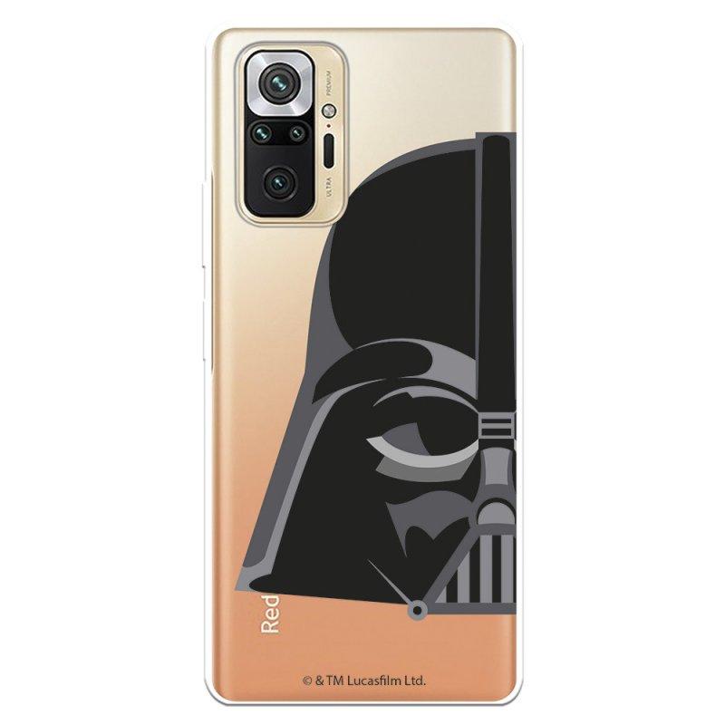 Funda Oficial De Star Wars Darth Vader Silueta Transparente Para Xiaomi Redmi Note 10 Pro