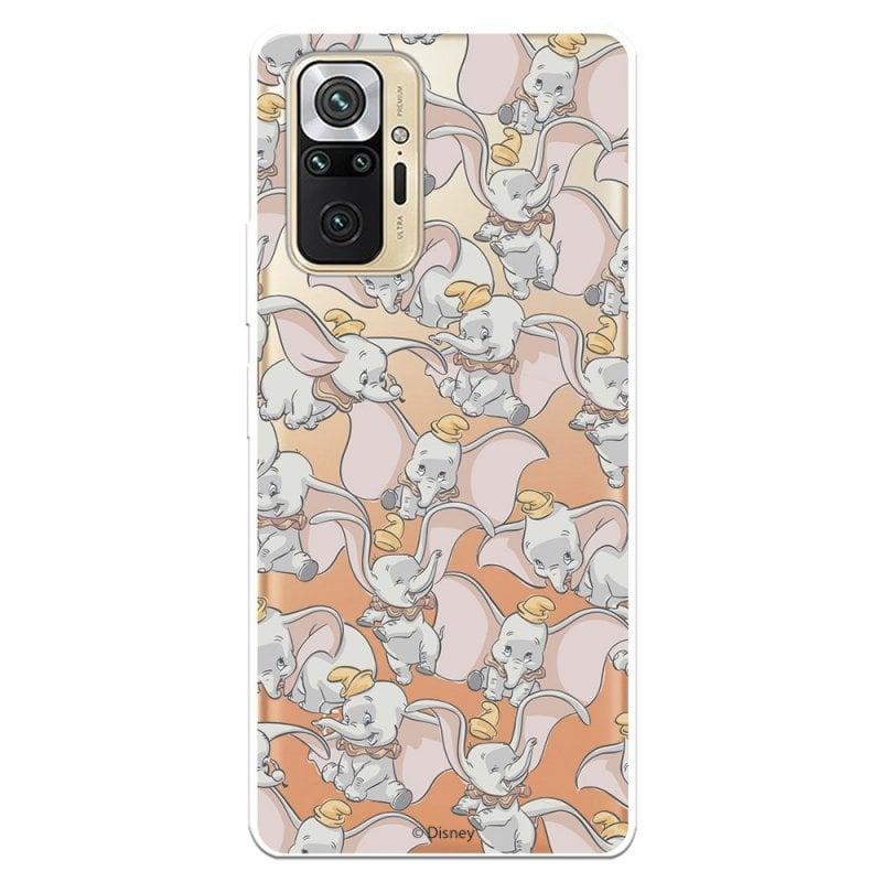 Funda Oficial De Disney Dumbo Siluetas Transparente Dumbo Para Xiaomi Redmi Note 10 Pro