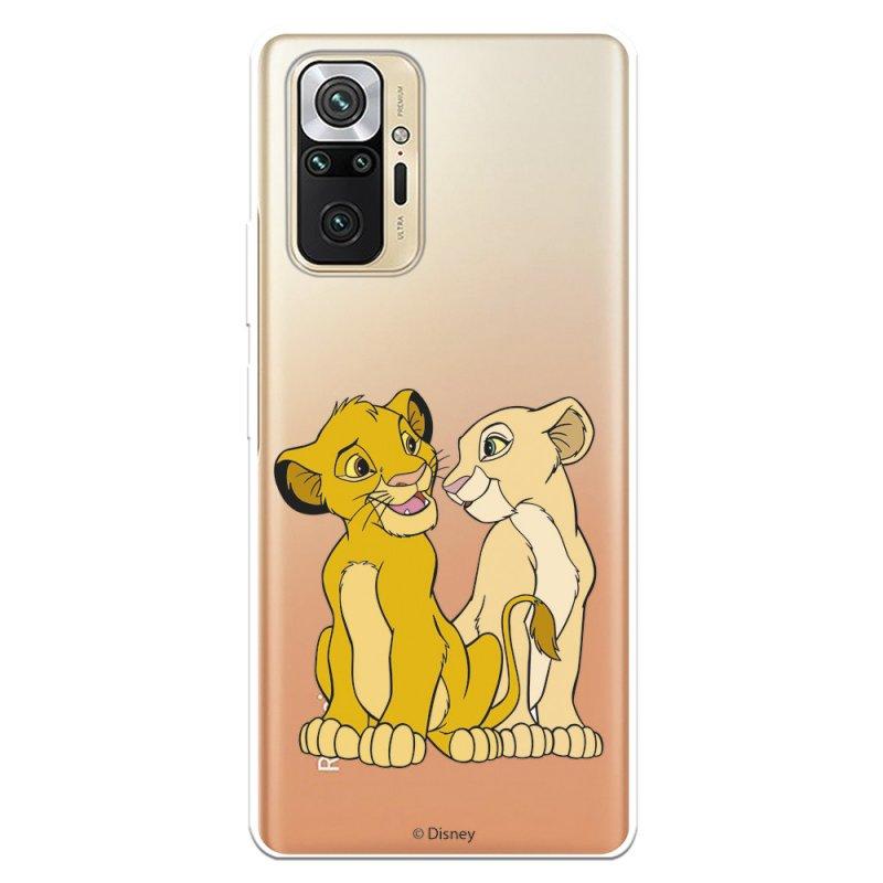 Funda Oficial De Disney El Rey León Simba Y Nala Silueta Para Xiaomi Redmi Note 10 Pro
