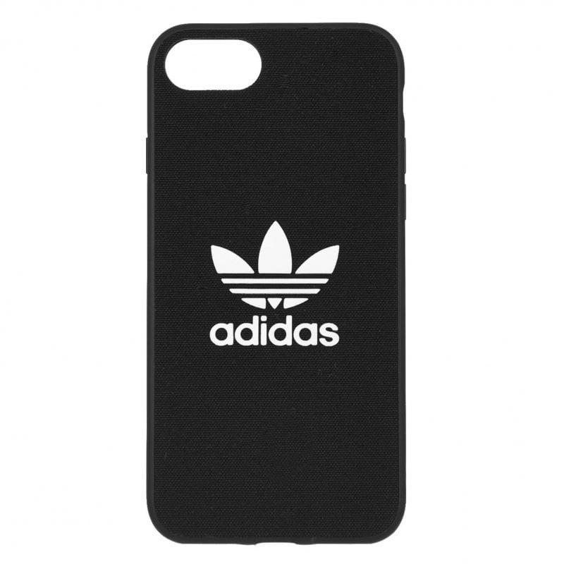 Funda Tela Adidas Oficial Logo Negra Edición Limitada Para IPhone SE