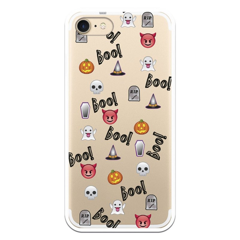 Funda Halloween Icons Para IPhone 7