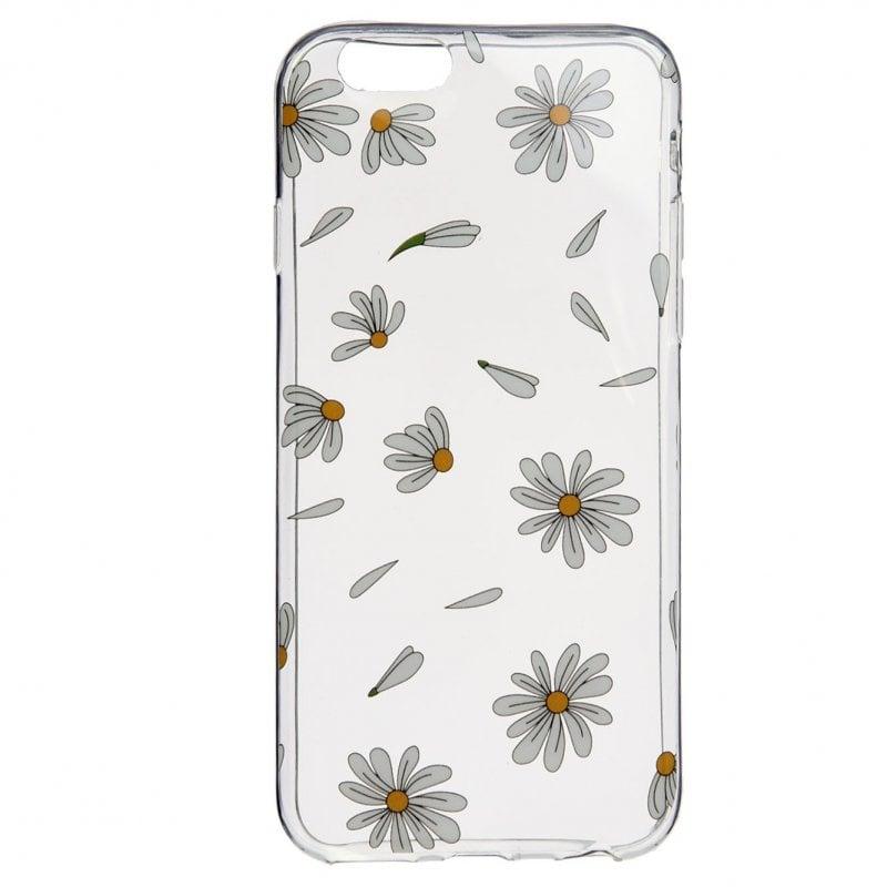 Funda Dibujo Margaritas Blanca Para IPhone 7