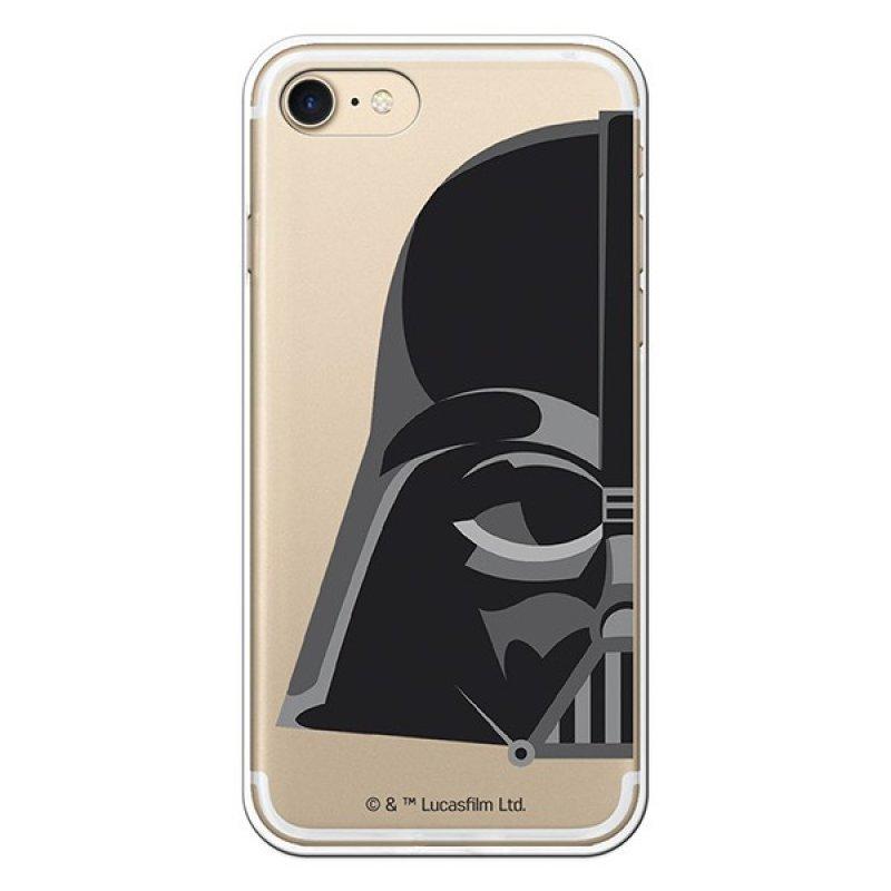 Funda Star Wars Darth Vader Transparente Para IPhone 7