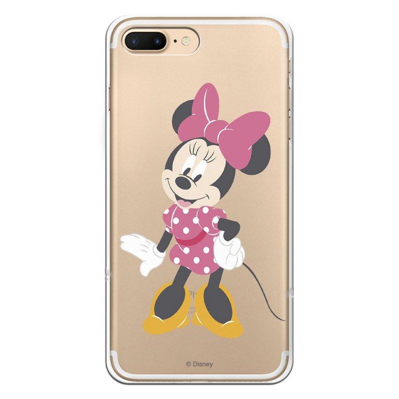 Funda Oficial Disney Minnie Lazo Rosa Para IPhone 7 Plus