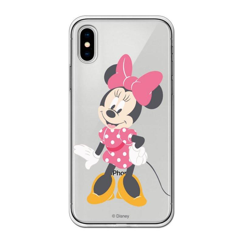 Funda Oficial Disney Minnie Lazo Rosa Para IPhone X